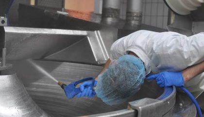 Lebensmittelbereich nach HACCP und IFS